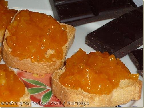 choco y naranja